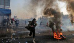قتيلان وجرحى برصاص الأمن في تظاهرة وسط بغداد
