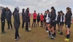 """المنتخب المصري """"سيدات"""" يؤدي تدريباته الأولى من المعسكر المغلق"""