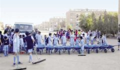 شباب أسوان يجمعون «قمامة السد العالى».. تطوع ونظافة