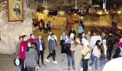 رحلة لطلاب الجامعات في دير السيدة العذراء بأسيوط