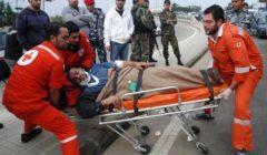 الصليب الأحمر اللبناني: أكثر من 200 مصاب جراء مواجهات وسط بيروت