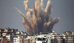 الجيش الاحتلال يقصف موقعا جنوب قطاع غزة