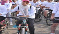 """""""البيئة"""" تشارك بماراثون الدراجات في """"15 مايو"""" وتزرع 500 شجرة"""