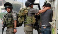 قوات الاحتلال الإسرائيلي تعتقل 8 فلسطينيين من الضفة
