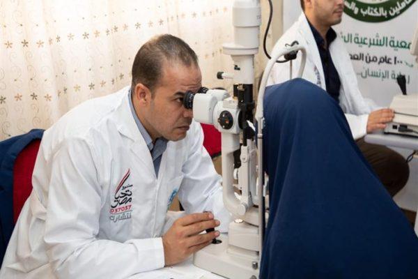 """لاكتشاف وعلاج أمراض العيون.. الداخلية تشارك في مبادرة """"نور حياة"""" الرئاسية"""