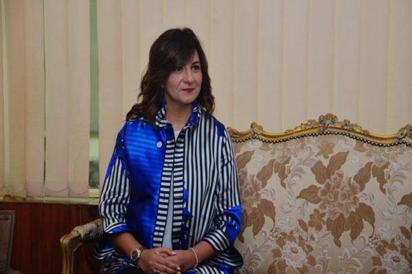 وزيرة الهجرة تلتقي عددا من رموز الجالية المصرية بولاية شيكاغو الأمريكية