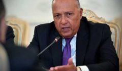 شكري: مصر متمسكة بدولة فلسطينية مستقلة وعاصمتها القدس المحتلة