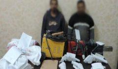 ضبط شقيقين يديران ورشة لتصنيع الأسلحة النارية في الخانكة