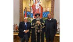 البابا تواضروس يبحث مع أحمد عكاشة رفع الوعي بالمرض النفسي