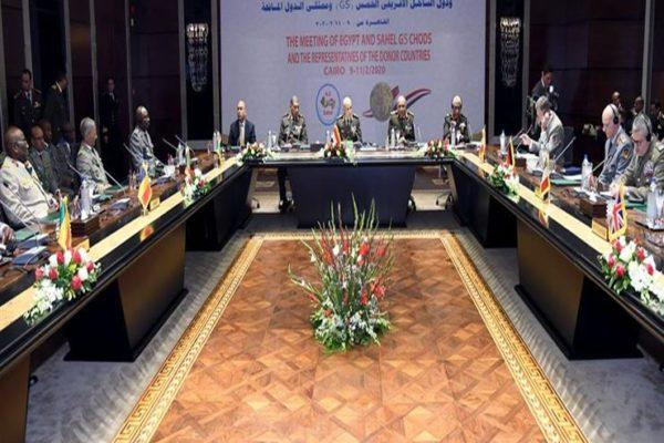 رئيس الأركان يترأس اجتماع رؤساء أركان دول تجمع الساحل الخمس (G5)