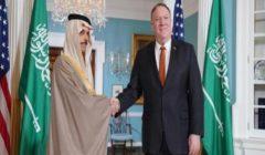 وزيرا الخارجية الأمريكي والسعودي يبحثان التهديدات الإيرانية وقضية اليمن