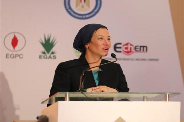 """وزيرة البيئة: التعاون مع """"البترول"""" ضرورة لصون الموارد والحفاظ عليها"""