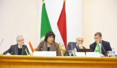 وزيرة الثقافة تترأس الجلسة الافتتاحية لمؤتمر المجمع العربي للموسيقى الـ25