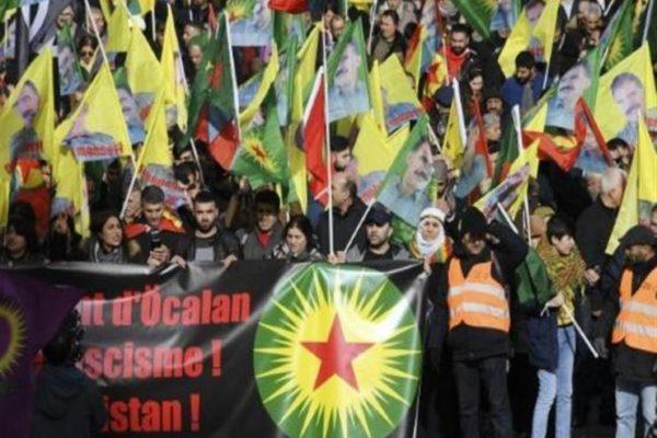 آلاف الأكراد يتجمعون في فرنسا للمطالبة بالإفراج عن عبدالله أوجلان