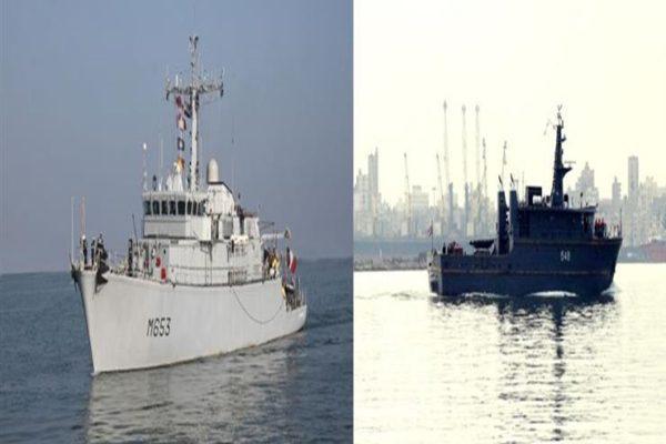 القوات البحرية المصرية والفرنسية تنفذان تدريبًا عابرًا في البحر المتوسط