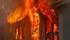 نشوب حريق داخل عقار سكني بمنطقة التجمع الأول