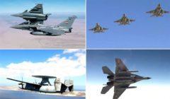 """القوات الجوية المصرية والفرنسية تنفذان تدريبا جويا عابرا بمشاركة """"شارل ديجول"""""""