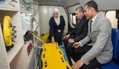 وزيرة التضامن الاجتماعي تزور المجلس القومي لرعاية أسر الشهداء والمصابين