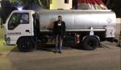 ضبط سائق بحوزته 8 آلاف لتر بنزين بكمين بلبيس