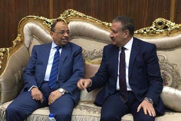 وزير التنمية المحلية يصل المنوفية ويلتقي المحافظ بالديوان العام