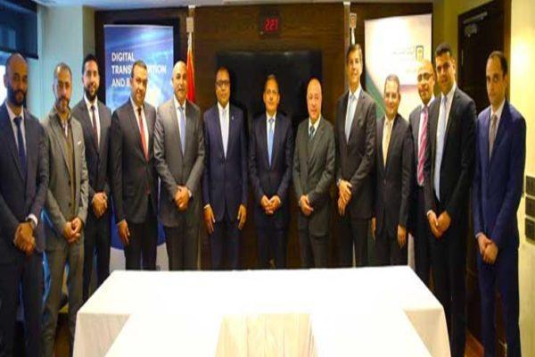 البنك الأهلي يوقع عقد تسهيلات ائتمانية بقيمة مليار جنيه لشركة فايبر مصر