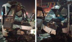 """""""السيارة تحطمت"""".. مصرع سائق في حادث أعلى دائري المعادي"""