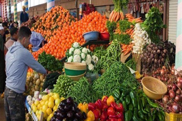ارتفاع الكوسة.. أسعار الخضر والفاكهة في سوق العبور الخميس 27-2-2020