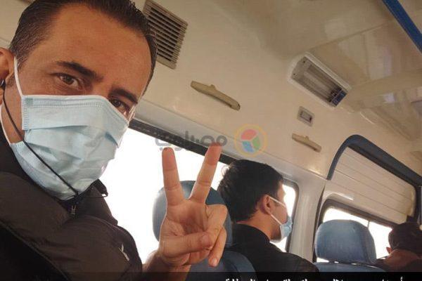 على حافة الموت.. مصراوي يحاور أول عربي يخرج من عزل كورونا بالصين (صور)