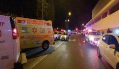 إصابة 14 شخصا في عملية دهس في القدس