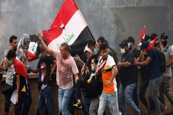 مدن عراقية تشهد مظاهرات في إطار الحراك الشعبي
