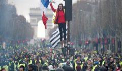 اعتقالات وعنف خلال مظاهرات السترات الصفراء في فرنسا