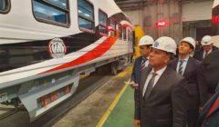 وزير النقل: توريد 6 قطارات جديدة للركاب من تالجو الاسبانية