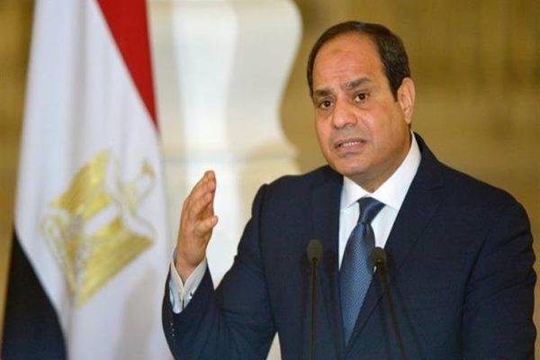 السيسى: تحية للشعب المصرى العظيم على التزامه واستجابته للحظر