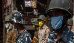 """فيروس كورونا: """"إغلاق تام"""" في الهند بعد ارتفاع حاد في حالات الإصابة"""