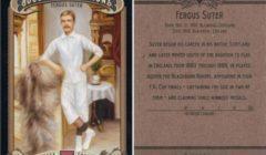 فيرجس سوتر.. عامل الحجارة الذي تحول إلى أول لاعب محترف في كرة القدم