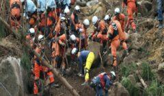 4 قتلى و3 مفقودين إثر انهيار أرضي جنوب غربي الصين