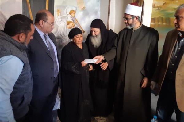 """من بينهم سكان """"الزرايب"""".. الجمعية الشرعية تقدم مليون و725 ألف جنيه لضحايا السيول"""