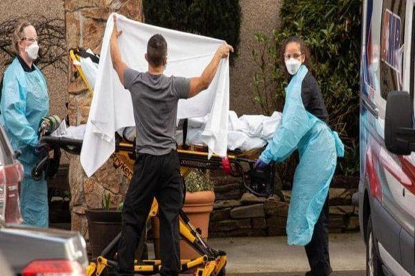 124 ألف مصاب بفيروس كورونا في الولايات المتحدة