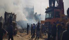 انفجار في مُخيم بقطاع غزة.. ومصرع 4 فلسطينيين