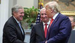 الرئيس الأمريكي يعيِّن النائب الجمهوري مارك ميدوز كبير موظفي البيت الأبيض