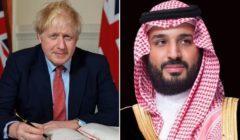رئيس الوزراء البريطاني يهاتف بن سلمان للتنسيق من أجل مواجهة كورونا