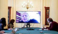 وزير الخارجية البريطاني عن صحة جونسون: مفعم بالحيوية