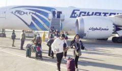 ركاب طائرة باريس: «اتبرعنا بـ5 آلاف يورو لصندوق تحيا مصر»