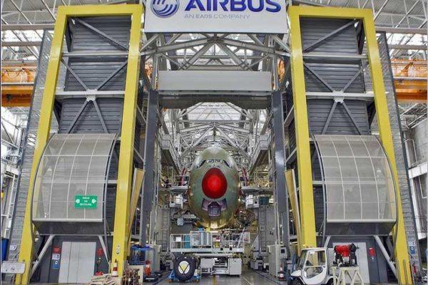 إيرباص توقف تصنيع وتجميع الطائرات في ألمانيا وأمريكا بسبب كورونا