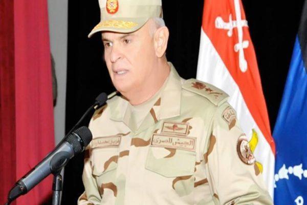 الفريق محمد فريد: القوات المسلحة تتصدى لمنع تسلل أي عناصر تستغل أزمة كورونا