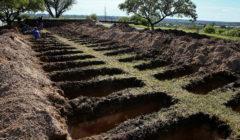 تحسباً لارتفاع وفيات كورونا.. مدينة أرجنتينية تستعد للأسوأ بحفر مئات القبور