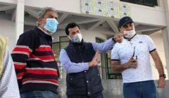 وزير الرياضة يتفقد إستاد الدراجات والملعب الرئيسي بإستاد القاهرة