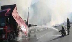 مقتل 9 أشخاص جراء اصطدام شاحنة بمبان على جانب طريق في شرق الصين