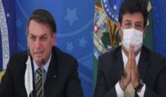بولسونارو يقيل وزير الصحة البرازيلي لخلاف على إدارة أزمة كورونا
