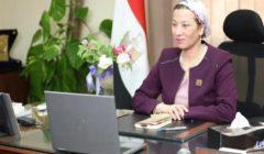 وزيرة البيئة تتابع إجراءات غلق خلية دفن قرية المعتمدية بعد انتهاء العزل الصحي